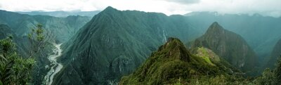 Adesivo Machu Picchu panoramica