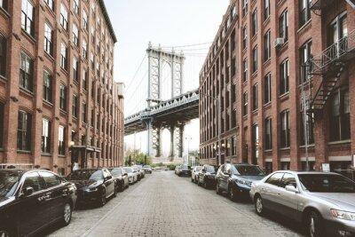 Adesivo Manhattan Bridge da Washington Street, Brooklyn
