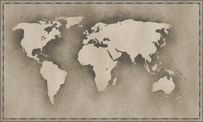 Adesivo Mappa d'epoca