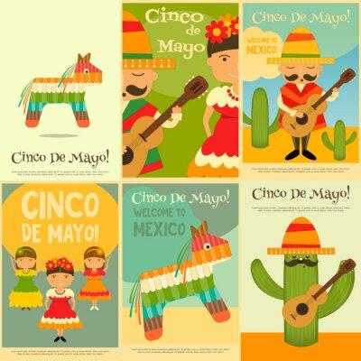 Adesivo messicana Poster