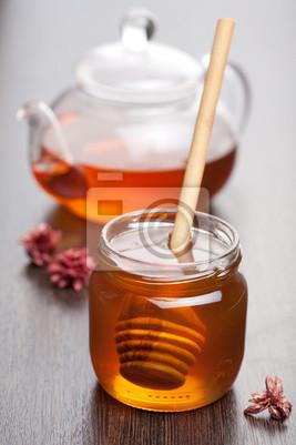 Adesivo miele e tè