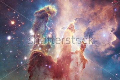 Adesivo Miliardi di galassie nell'universo. Spazio astratto. Elementi di questa immagine fornita dalla NASA