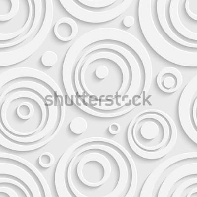 Adesivo Modello di cerchi senza soluzione di continuità