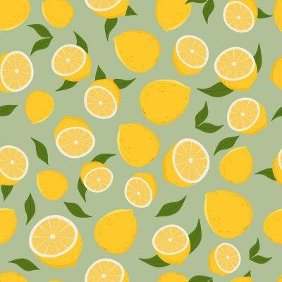 Adesivo Modello di limoni.
