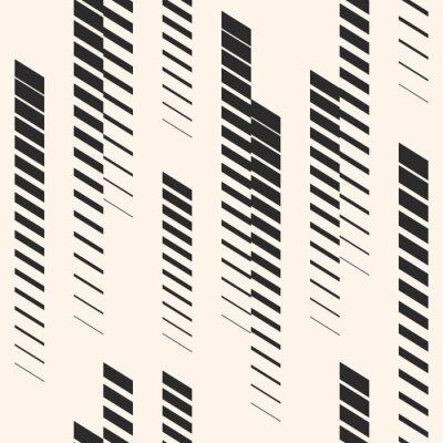 Adesivo Modello senza cuciture grafico astratto con linee verticali, tracce, strisce di mezzitoni. Modello sportivo Modello urbano