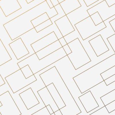 Adesivo Modello vettoriale geometrico, ripetendo sottile forma quadrata lineare e rettangolo di diamante. Design pulito per la carta da parati in tessuto dipinto. Il modello è sul pannello Campioni