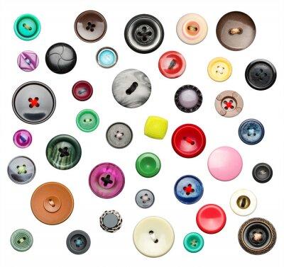 Adesivo Molti pulsanti colorati