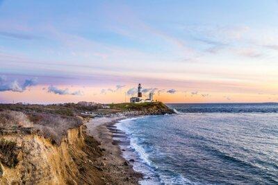 Adesivo Montauk Point Light, Faro, Long Island, New York, Suffolk