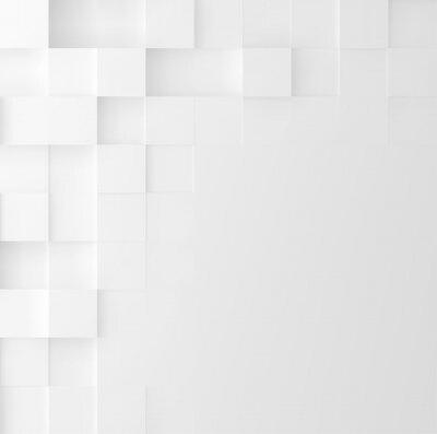 Adesivo Mosaico sfondo quadrato. Disegno geometrico astratto copertura minimalista. Grafica vettoriale