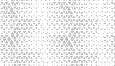 Adesivo Motivo geometrico astratto Sfondo vettoriale senza soluzione di continuità. Mezzitoni bianchi e grigi. Motivo grafico moderno. Semplice design grafico a traliccio.