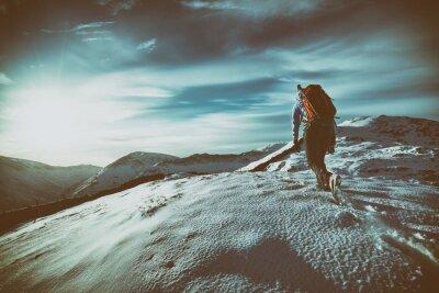 Adesivo Mountain Walking