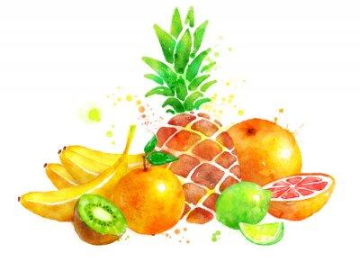 Adesivo Natura morta con frutta.