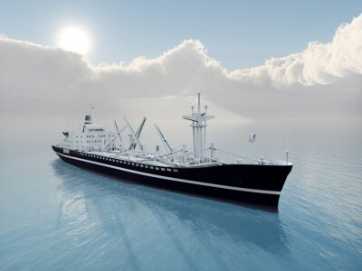 Adesivo Nave Cargo