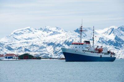 Adesivo Nave da crociera in Antartide