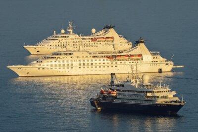 Adesivo navi da crociera ormeggiate Dubrovnik