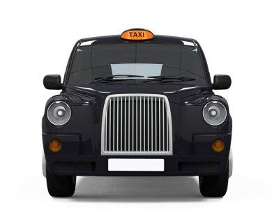 Adesivo Nero London Taxi