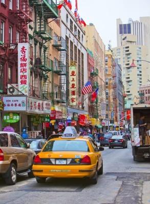 Adesivo NEW YORK - APRIL 18: Street in New York