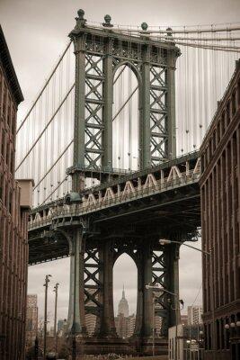 Adesivo New York Manhattan Bridge