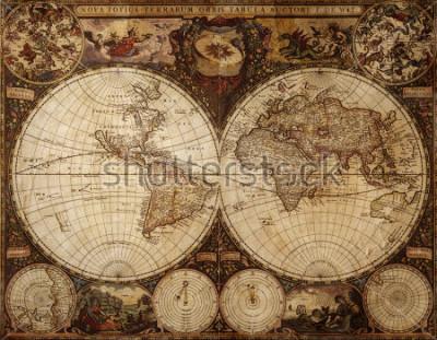 Adesivo old map