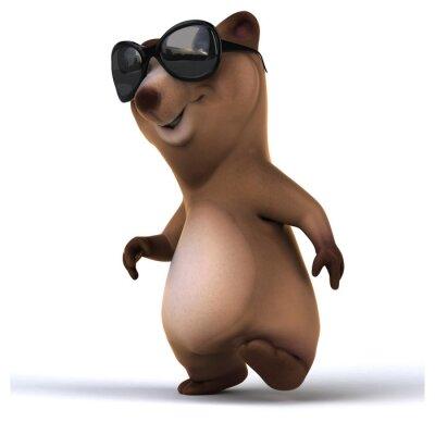 Adesivo orso Fun