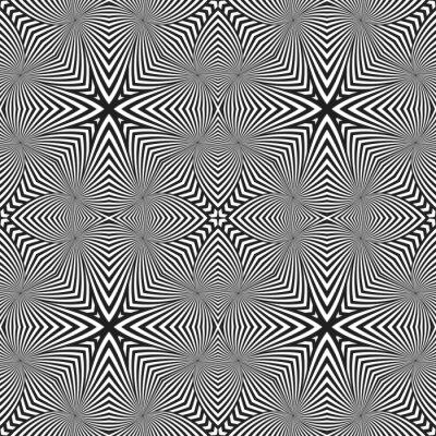 Adesivo ottica arte astratta a strisce modello deco senza soluzione di continuità.