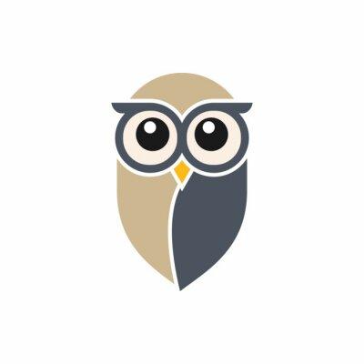 Adesivo Owl Logo Template