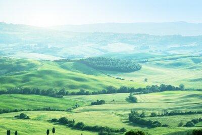 Adesivo paesaggio in Toscana, Italia