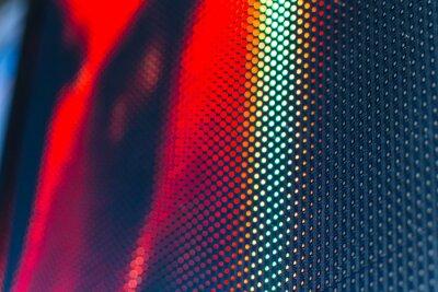 Adesivo parete video a LED ad alta modello saturo