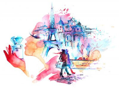 Adesivo Parigi