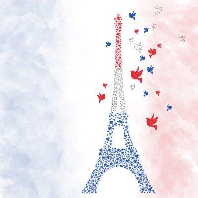 Adesivo Parigi Torre Eiffel