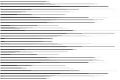 Adesivo Pattern mezzetinte linea velocità orizzontale con effetto sfumato. Modello per sfondi e trame stilizzate.