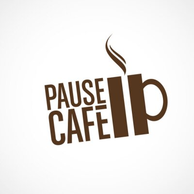 Adesivo pausa caffè