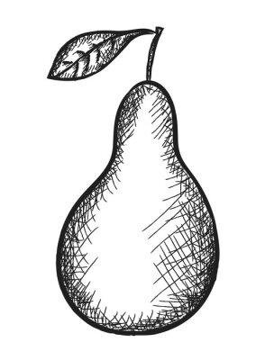 Adesivo pera Doodle