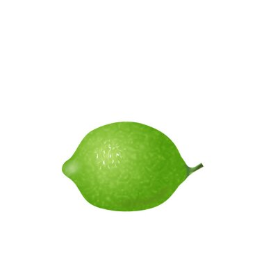 Adesivo  Photo Realistic Lime Isolated