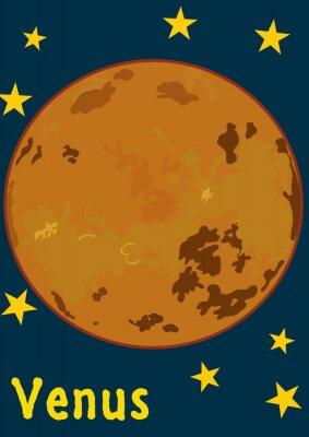Adesivo Pianeta Venere