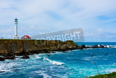 Adesivo Point Arena Lighthouse in California