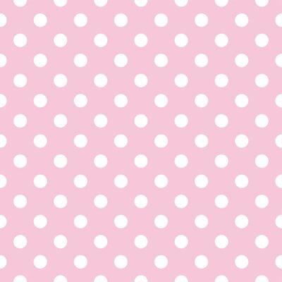 Pois Bambino Su Sfondo Rosa Retrò Seamless Vettore Adesivi Per Il