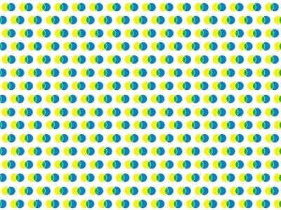 Adesivo polka dot bianco modello vettoriale senza soluzione di continuità