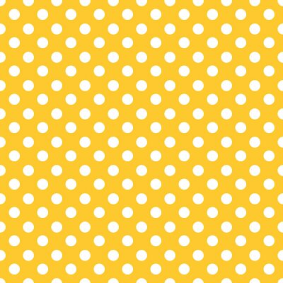 Adesivo Polka dots sfondo seamless.