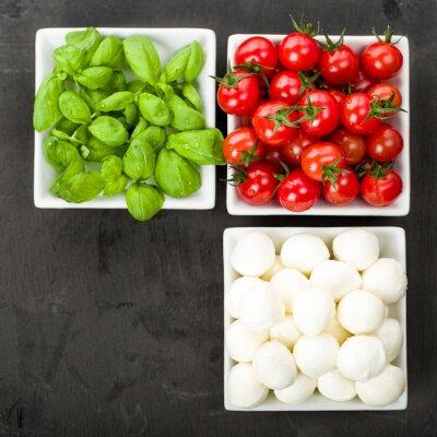 Adesivo Pomodoro Mozzarella basilico