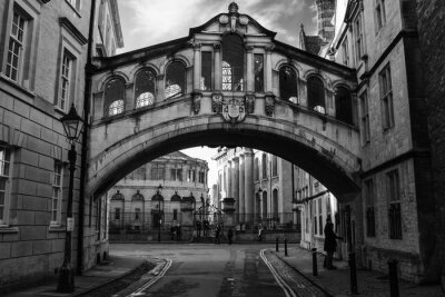 Adesivo Ponte dei Sospiri a Oxford.