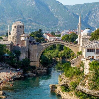 Adesivo Ponte Vecchio di Mostar