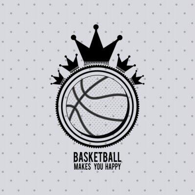 Adesivo progettazione campionato di basket