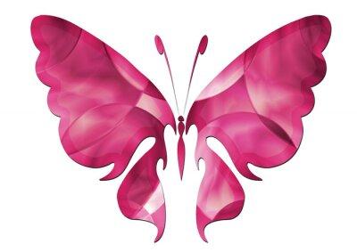 Adesivo Purple Butterfly / Bella farfalla