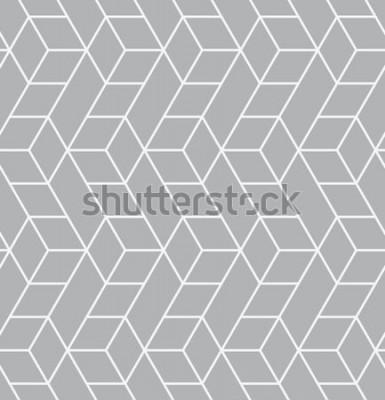 Adesivo Reticolo senza giunte Texture moderna ed elegante. Ripetendo le piastrelle geometriche con triangoli.