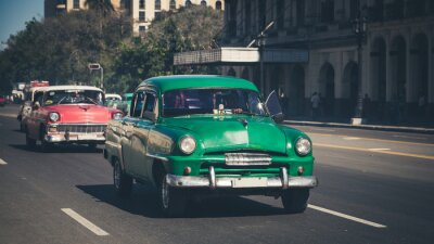 Adesivo Retro: Oldtimer Havana | Cuba