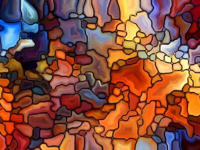 Adesivo Ritorno di Stained Glass