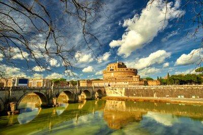 Adesivo Roma - Castel S. Angelo, Italia