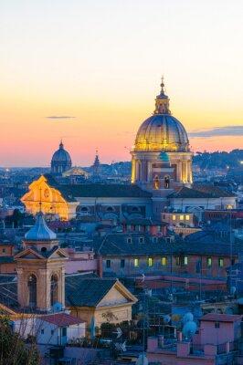 Adesivo Roma Panorama da Villa Borghese