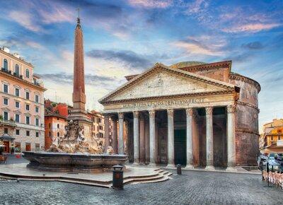 Adesivo Roma - Pantheon, nessuno
